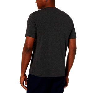 Camiseta Masculina Básica Algodão Premium Modelo Exclusivo Chumbo