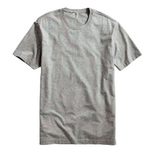 Camiseta Masculina Básica Algodão Premium Modelo Exclusivo Cinza