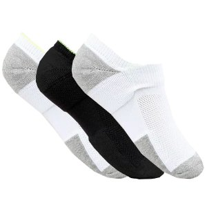 kit de 3 meias femininas invisível esportivas Colors