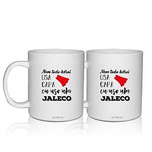 Kit 2 Canecas Personalizadas 300ml Profissional da Saúde - Jaleco