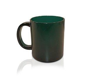 Caneca de Café Verde Escuro 300ml - Policarbonato