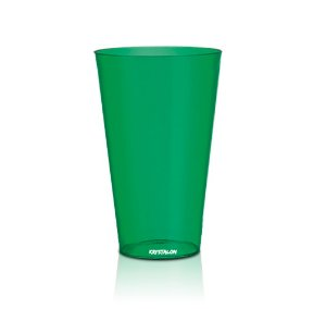Copo Big Drink 550ml Verde - Poliestireno Acrilico PS