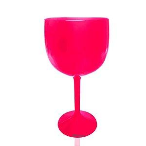 Taça Gin Rosa 550ml - Poliestireno Acrilico PS