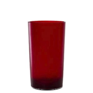 Copo Big Drink 500ml Vermelho - Policarbonato Texturizado