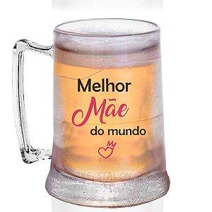 Caneca Gel Personalizada 400ml Criativo Dia das Mães Presente Lembrancinha -  Melhor Mãe
