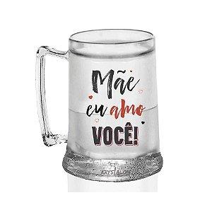 Caneca Gel Personalizada 400ml Criativo Dia das Mães Presente Lembrancinha -  Amo Você