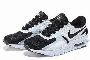 cdc3cf3a085 Tenis Nike Air Max Zero qs 1987 o primeiro antes do primeiro branco e preto  autentico
