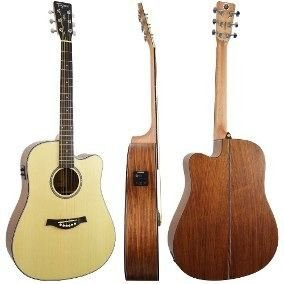 VIOLAO TAGIMA WALNUT TWO FOLK PRE FISHMAN NT