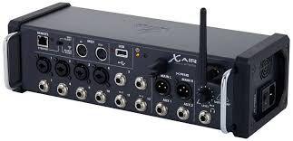 Mesa De Som Digital 12 Canais Wi-Fi E Gravador USB XR-12 - Behringer