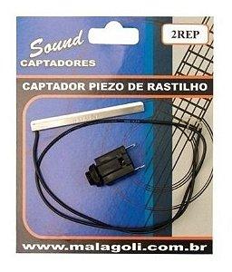 Captador Malagoli p/ Violão 2RE rastilho