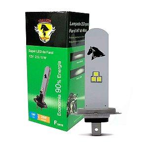 Lâmpada Super LED H7 Farol 8000k 35w