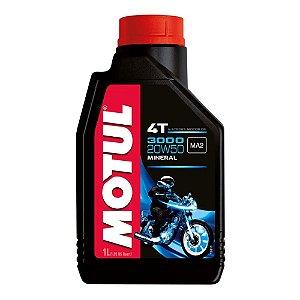 Óleo Motor Motul 3000 4T 20W50 Mineral 1 Litro