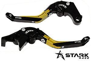 Manete Articulado Extensível Stark Versys 650 1000 Z650 Z900