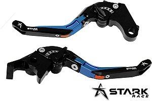 Manete Articulado Extensível Stark Zx 6 Ninja 650 Er 6n 6f