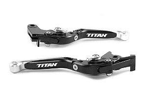 Manete Articulado Extensível A Laser Cg Titan 125 150 160