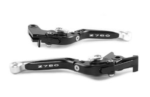 Manete Esportivo Z750 Preto E Prata Gravado A Laser Z750