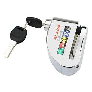 Trava Disco C/ Alarme Impermeável S 1000rr F 700 800 Gs