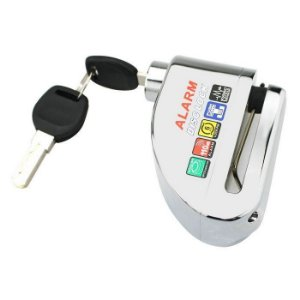 Trava Disco Mountain Bike Mtb C/ Alarme Sensor Impermeável