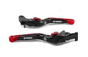 Manete Esportivo Xj6 Mt-03 Xt 660 Mt-07 R1 R3 A Laser Yamaha