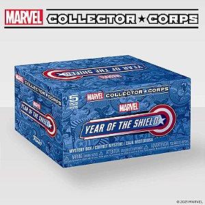 Funko Pop Marvel Collector Corps - Capitão América