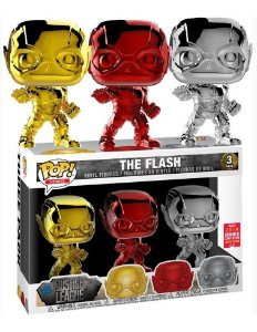 Funko POP DC Comics - Chrome The Flash