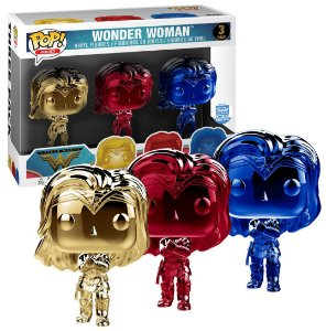 Funko POP DC Comics - Chrome Wonder Woman