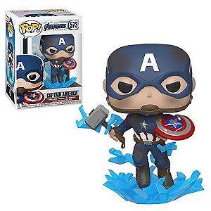 Funko POP Marvel Avengers Endgame - Capitão América
