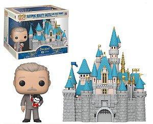 Funko POP Disney - Sleeping Beauty Castle and Walt Disney