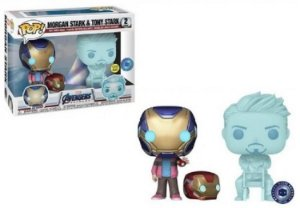 Funko POP Marvel - Morgan & Hologram Tony Stark