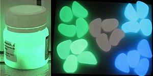 Tinta Glow Amarelo Esverdeada + Pedra Glow - KIT promocao