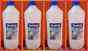 2 kgs Cola Transparente Glue Zas Tras Original * PROMOCAO TEMPO LIMITADO