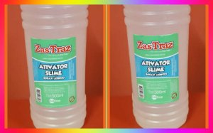1 litro Ativador Slime Original Zas Traz. O Melhor. *PROMOCAO*