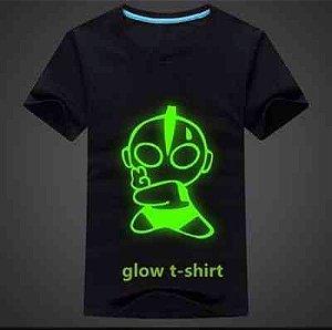 Camiseta: Tinta Glow Corion Pote 25ml Para Fazer Camiseta que Brilha no Escuro Sem Luz Negra