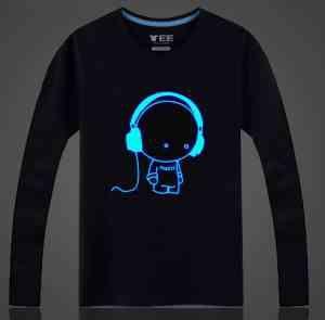 Camiseta: Pó Glow Corion Pote 10ml Para Fazer Camiseta que Brilha no Escuro Sem Luz Negra