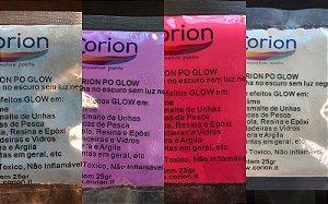 Kit 4 x Cores Pó Corion Glow 25gr Concentrado com Desconto Combo