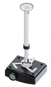 Suporte telescópico de teto para projetor 50CM A 75CM