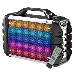 Foto 4 - Caixa de Som Multilaser Amplificada LED - 100W RMS