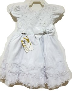 Vestido Infantil Batizado - Menina Bonita