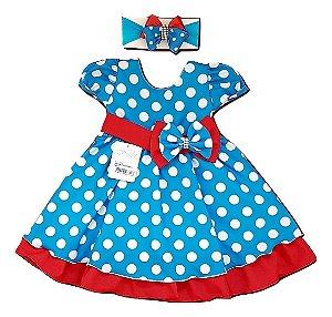 Vestido Infantil Galinha Pintadinha Baila Nina