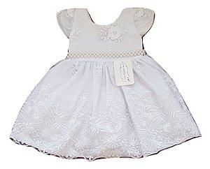Vestido Infantil Batizado - Sapequinha