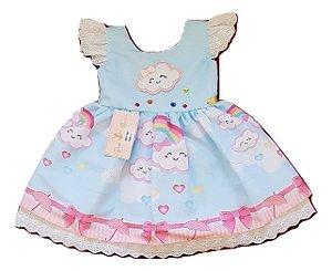 Vestido Infantil Chuva de Amor Baila Nina