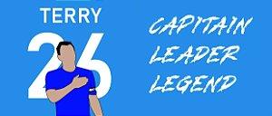 Caneca Capitão, líder e lenda