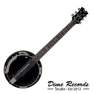 Banjo Dean Blackwoods 6 Cordas Bw6e Bc Eletrico