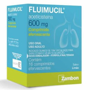 Fluimucil 600 mg 16 comprimidos efervescente