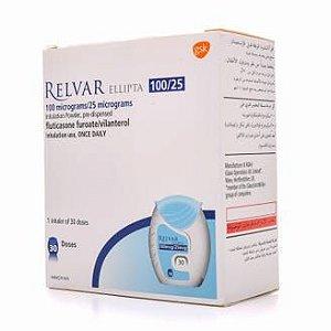 RELVAR 100/25 - COM 30 DOSES