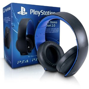 HEADSET PLAYSTATION GOLD WIRELESS STEREO - PS4 - PS3 - PSVITA
