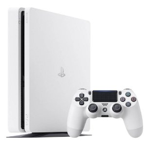 PLAYSTATION 4 SLIM BRANCO - SONY