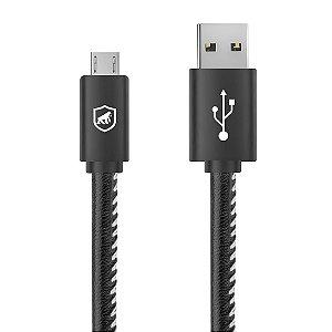 CABO TURBO MILITAR - 1,5M - MICRO USB V8