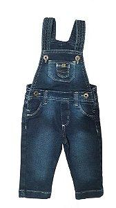 Jardineira Infantil Jeans - Menino