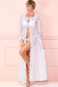 ROBE LONGO BRANCO  - EASY TO LOVE FRUIT DE LA PASSION